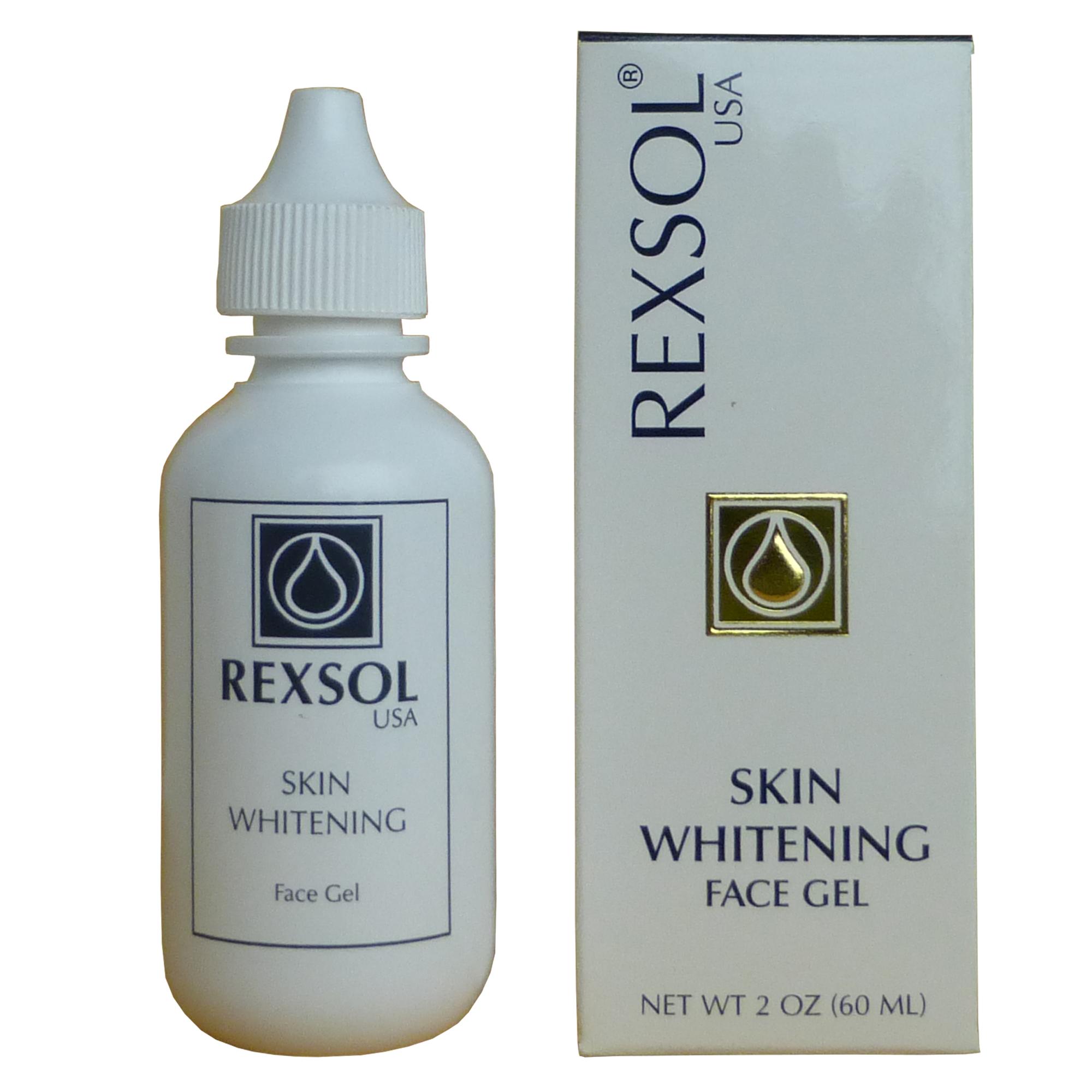 skin whitening gel - with--